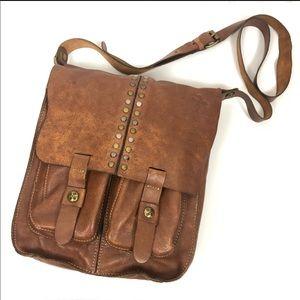 Patricia Nash Armeno Crossbody Messenger Bag